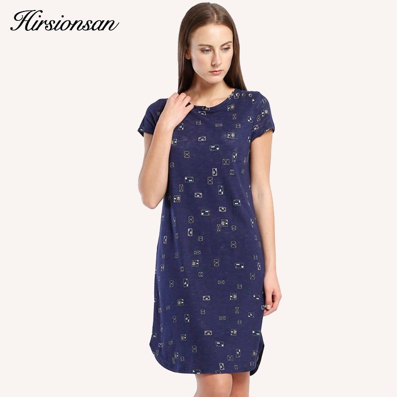 Buy Cheap Brand Printed Women Summer Dress 2017 New Short Sleeve Shift Dress Vintage Party Vestidos Femininos Ladies Casual Shirt Dress