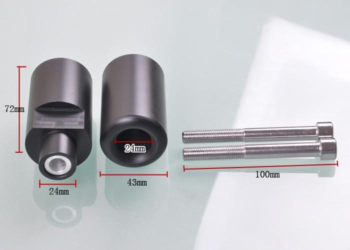 Wotefusi высокой плотности Пластик для 04-05 Suzuki gsx-r 600/750 Рамки ползунки [P355]