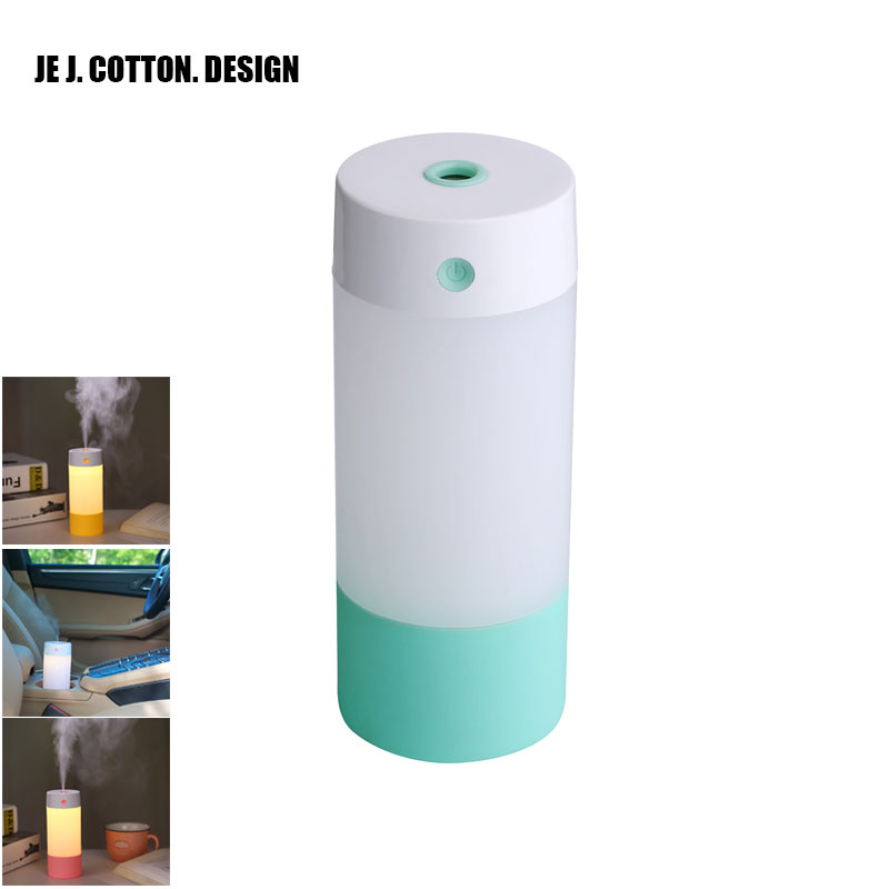 цены New 250ML Ultrasonic Air Humidifier Air Freshener for Home Car Aroma USB Umidificador Essential Oil Diffuser with LED Warm Light