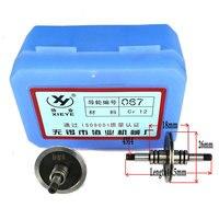 Xieye Cr12 دليل عجلة بكرة 067 (OD26 * L41.5mm) ل WEDM سلك آلة قطع|آلة تقطيع الأسلاك بالكهرباء|أدوات -