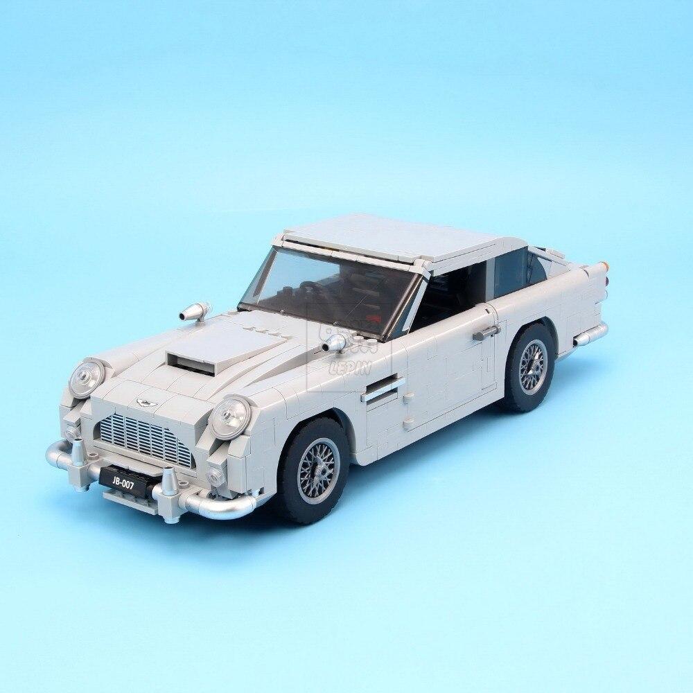Lepin 21046 Créateur Série D'experts Aston Martin DB5 Compatible Avec 10262 Briques Modèle Blocs de Construction Jouets Éducatifs LegoINGly