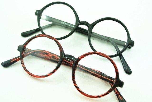 50\'s 44mm Vintage Round Glasses Eyeglass Frames Tortoise Full Rim ...