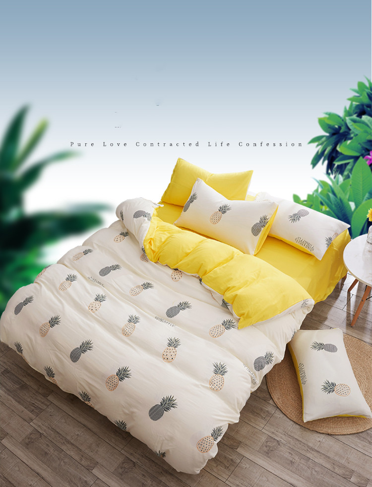 New  cotton 4 Pcs.washed cotton Bedding Set. Very comfortable .AB side. washed cottonNew  cotton 4 Pcs.washed cotton Bedding Set. Very comfortable .AB side. washed cotton
