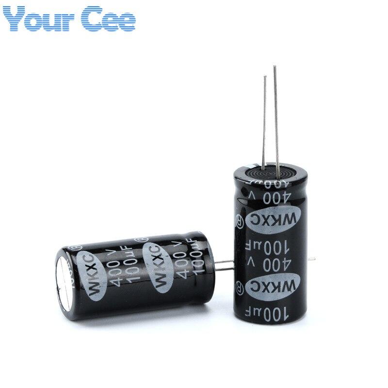 10 pcs Electrolytic Capacitors 400V 100UF 18X35MM Aluminum Electrolytic Capacitor