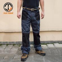 2017 New Men Cargo Pants Casual Multi Pocket Full Length Trousers For Men Business Long Pant