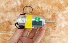 DC24V 3400 ОБ./МИН. двигатель с постоянным магнитом двойной шариковый подшипник температурная защита 8 полюса ротора электрический инструменты аксессуары