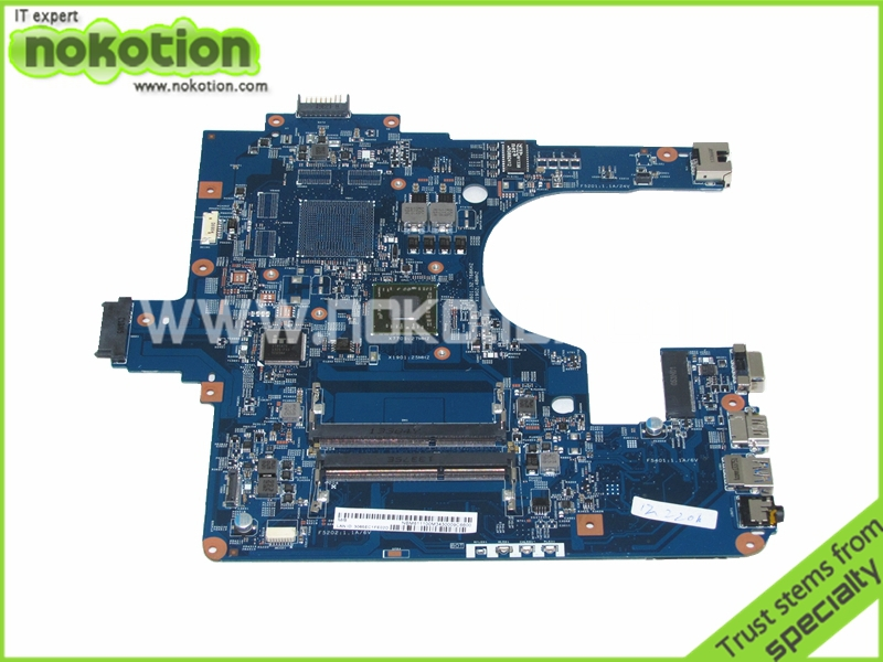 NOKOTION Laptop Motherboard for Gateway NE522 e1-522 Mother Boards NBM811100M NE52209U EG50-KB MB 48.4ZK14.03M EM2500 DDR3 nokotion sps v000198120 for toshiba satellite a500 a505 motherboard intel gm45 ddr2 6050a2323101 mb a01