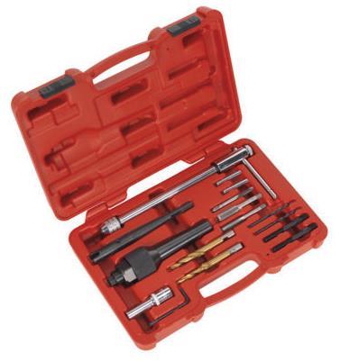 16 шт. поврежденных накаливания удаления Нитки ремонт гараж tool kit 8 мм 10 мм
