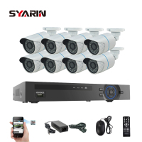 TEATE Surveillance 8CH 1080P POE NVR System Kit 1 3MP 960P ONVIF P2p IP Camera CCTV