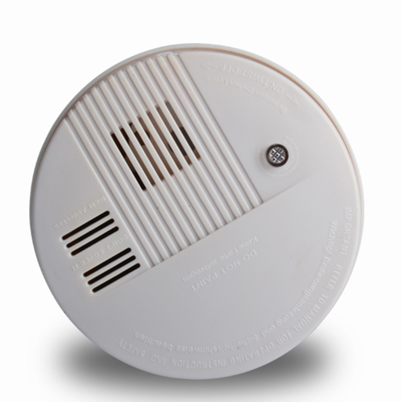 High Sensitive Wireless Smoke Carbon Monoxide Composite Alarm Independent Alarm Smoke Detector Photoelectronic Smoke Alarm
