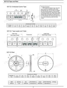 Image 5 - (100 pièces) Diodes à commutation rapide petit Signal BAV70 SMD 200mA 70 V SOT 23 (SOT 23 3) 200 mA 70 volts (marquage A4)