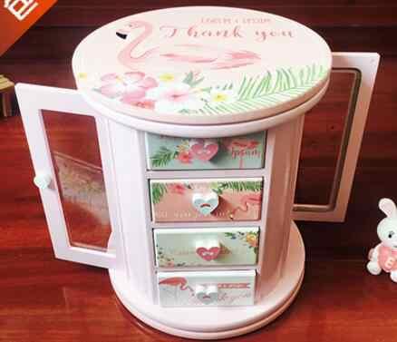 Ym 720 Hellokitty Korea Kotak Kotak untuk Perhiasan Anak-anak Kotak Kosmetik