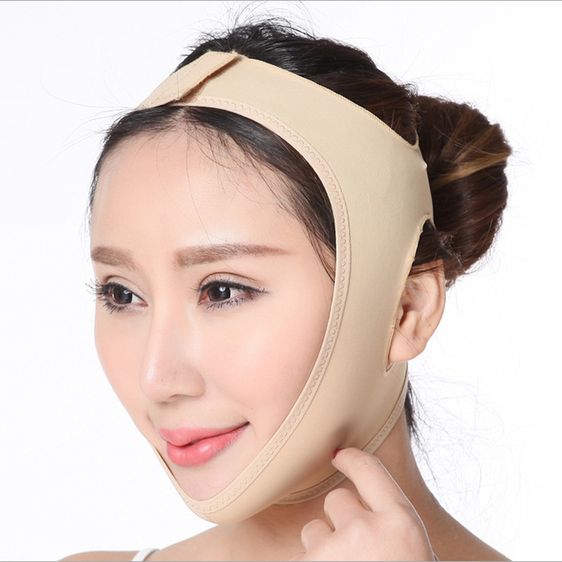 Reduce Double Chin Bandage Face Shaper Skin Care Belt Facial Slimming Mask Face Lift Up Belt Thin Neck Mask Sleeping Face-Lift