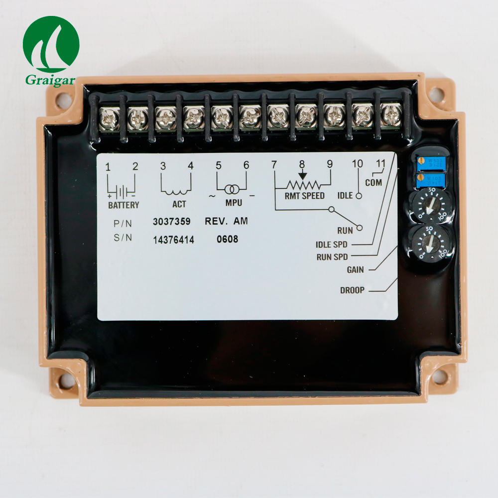 CE30-37359 Speed Actuator Used for Controlling Generator Speed RMP Stability <+/-25%CE30-37359 Speed Actuator Used for Controlling Generator Speed RMP Stability <+/-25%