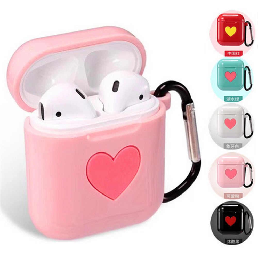 Besegad ТПУ силиконовый милый защитный чехол для зарядки чехол для Apple AirPods Air Pods Bluetooth беспроводные наушники