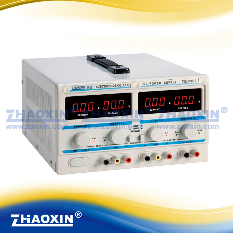 RXN-303D-II digital adjustable DC power supply 30V3A two outputs In series and in parallel Output fixed output 5V3A я immersive digital art 2018 02 10t19 30