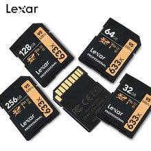 프로모션 2019 lexar 전문 sd 카드 16 기가 바이트 32 기가 바이트 64 기가 바이트 128 기가 바이트 256g class10 u1/u3 v10/v30 sdhc/sdxc dropshipping 메모리 카드