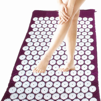 Massage Relaxation Health Care Massager Cushion Acupressure Mat Relieve Stress Pain Acupuncture Yoga Mat 70 45cm