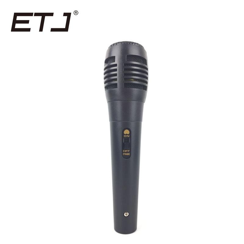 ETJ BT58A Profissional Interruptor Vocal Handheld Microfone Com Fio Dinâmico Para BETA58A Cardióide ou SM 58 Microfone Karaoke Mic