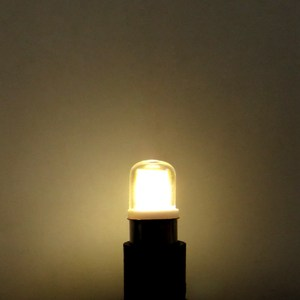 Image 5 - BA15D LED Light Bulb 3W 110V 220V AC Non dimming 300 Lumens COB 1511 LED Lamp White Warm White for Chandelier Sewing Machine 1pc