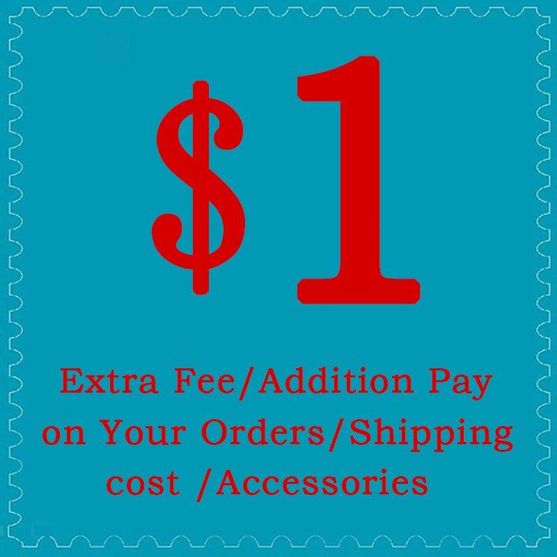 Frais supplémentaires/paiement supplémentaire sur vos commandes/frais de port/accessoires