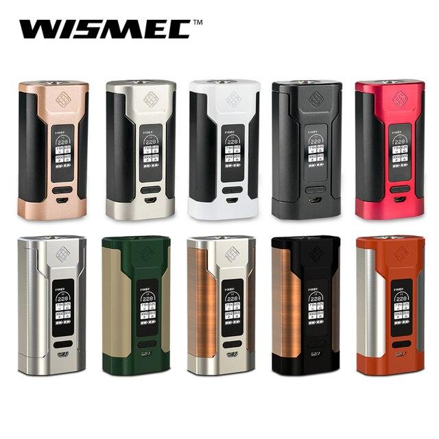 Новый Цвет оригинальный wismec извилистые P228 mod kit 1-228 Вт поле mod подходит elabo бак НС triple катушки электронная сигарета Лидер продаж