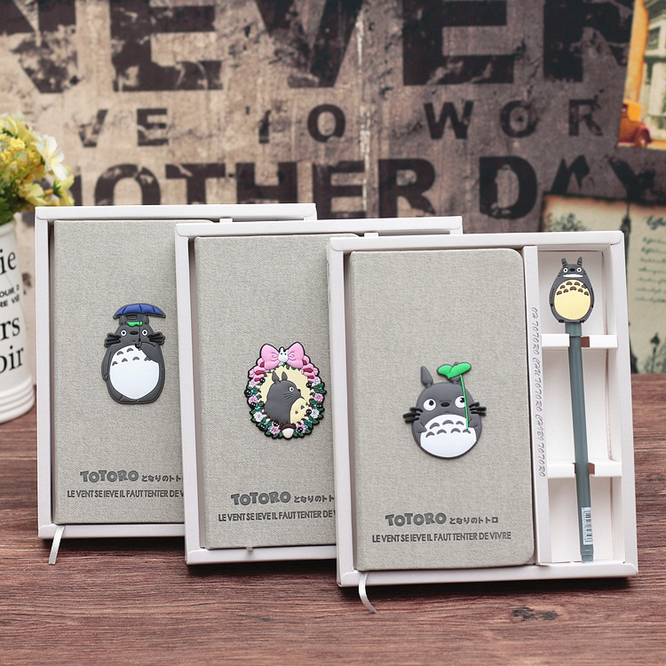 A5 A6 Cartoon Japanese My Neighbor Totoro Notebook Planner Journals Journey Notebook Students Graduation And Birthday Gift Set