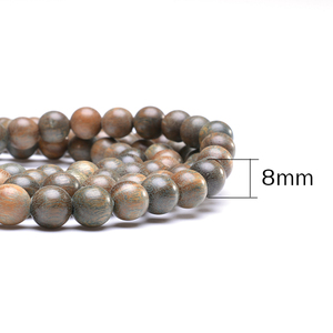 Image 5 - Healing Balance Yoga Wooden Beads Bracelet Natural Green Sandalwood Buddhist Mala Meditation Prayer bracelet For Men Women Gift