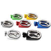Motorcycle Footrest Dirt Bike foot Pegs Pivot Foot Pedal For Yamaha YZF250 WR250F YZ85 125 250 1999 2015 YZF450 2004 2015
