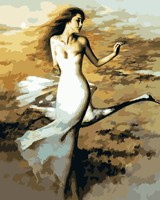 Art Swan Dancer Most New Frameless Pictures Painting Diy Oil Painting By Numbers Hand Painted Canvas