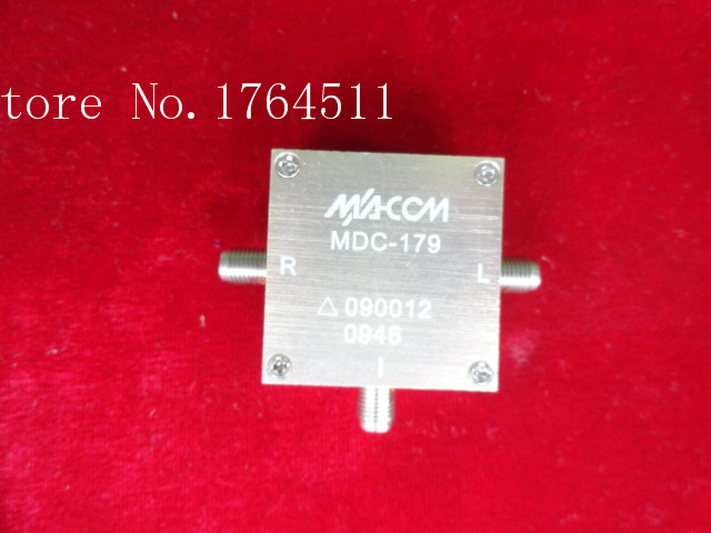 [BELLA] The United States Imported M/A-COM MDC-179 SMA RF RF Coaxial Double Balanced Mixer