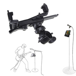 New Music Microphone Stand Holder Mount For 7 to 11inch Tablet iPad Air 5 4 3 2 Samsung Tab Tablet PC Stands XXM