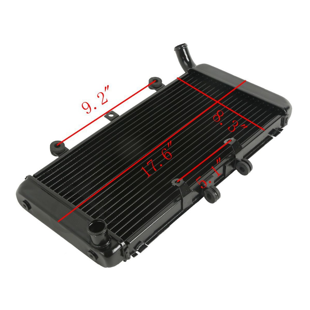 Motorcycle Radiator For HONDA CB1300 2003-2008 2004 2005 2006 2007 New Cooler Accessories motor parts aftermarket free shipping motorcycle parts eliminator tidy tail for 2006 2007 2008 fz6 fazer 2007 2008b lack