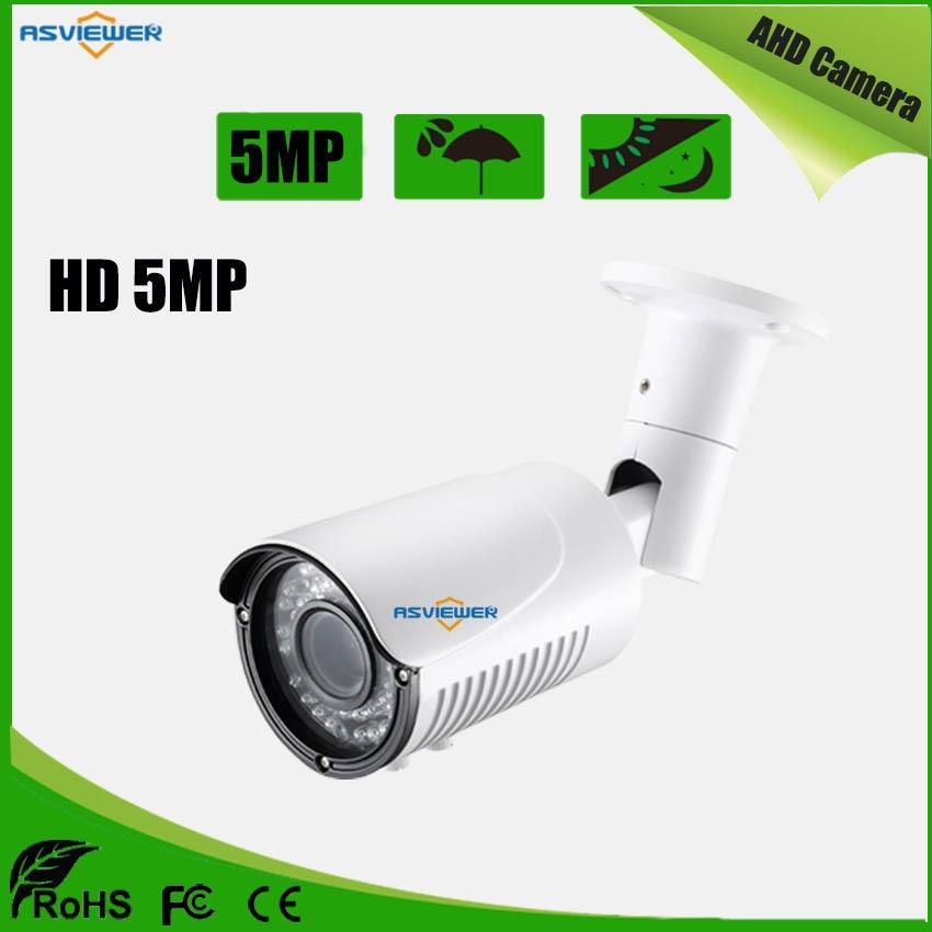 Varifocal Lens 2.8-12mm Full HD 5MP AHD Metal Bullet Outdoor Waterproof Camera With 42pcs IR LED With IR-CUT AS-AHD8405H5Varifocal Lens 2.8-12mm Full HD 5MP AHD Metal Bullet Outdoor Waterproof Camera With 42pcs IR LED With IR-CUT AS-AHD8405H5