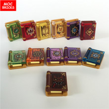 Распродажа кубики Moc DIY Nexus Knights Jestro, волшебные книги, игрушки, развивающие фигурки, блоки, кубики, лучшие детские подарки