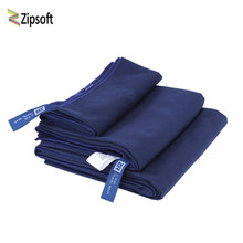 Zipsoft Beach Towel Microfiber Dark Blue Quick-drying Towels for Bath Camping swimming Sports Yoga Mat 2019 New toalha de banho(China)