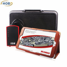 VDM UCANDAS V3.81 Software Installed on Tablet PC Full System Support WIFI Multi Language and Multi Vehicles Car Diagnostic Tool(China (Mainland))