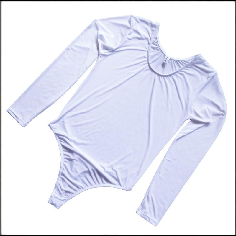 Men's Soft Comfortable Smooth Ice silk underwear Silky Bodysuit pants Leotard Unitards Underwear Undearpants Lot pants