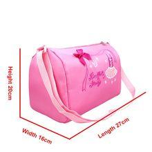 New Fashion Kids Ballet Dance Bag Pink Princess Sling Crossbody Bag Girls Korean Waterproof Diesel Bags