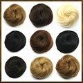 1PC 12cm Fake Buns, Cute hair bun, Bun Hair Chignon, Donut Roller Hairpieces, hair pad  Weight 40g Free shipping