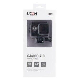 """Image 4 - Sjcam câmera de ação sj4000 air 4k, câmera full hd, 4k, 30fps, wifi, tela de 2.0 """", mini, para capacete, à prova d água câmera de gravação esportiva dv"""