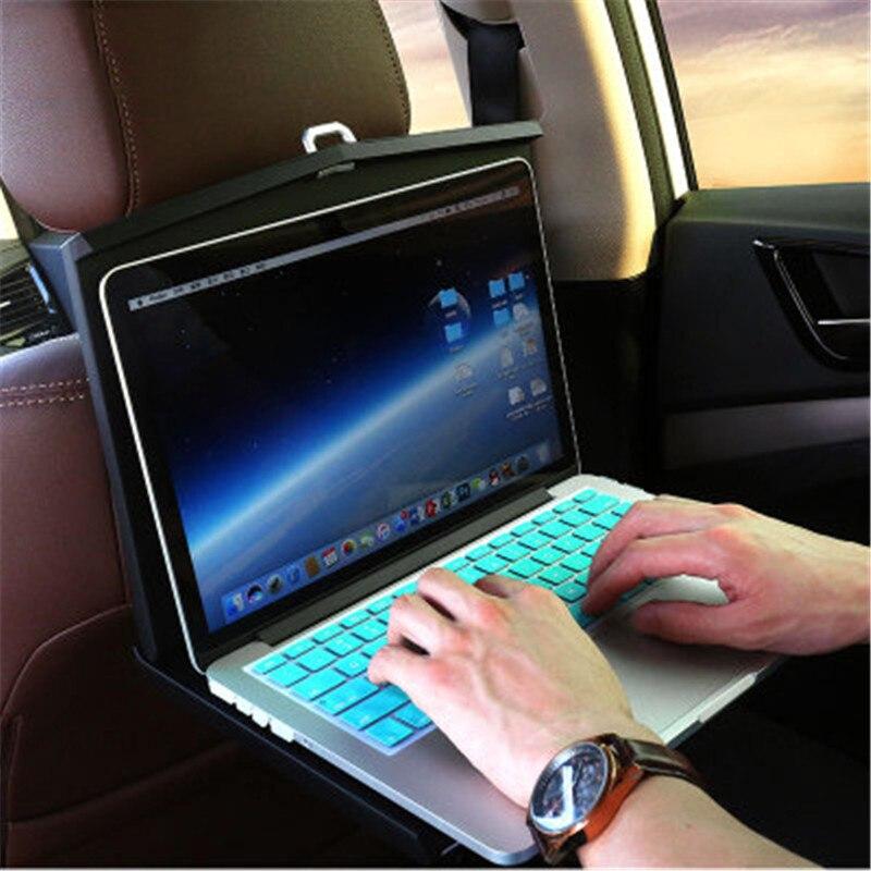 Voiture véhicule ordinateur bureau et chaise arrière Table pliante plaque haut de gamme voiture intérieur affaires cadeaux Gadgets pratiques accessoires