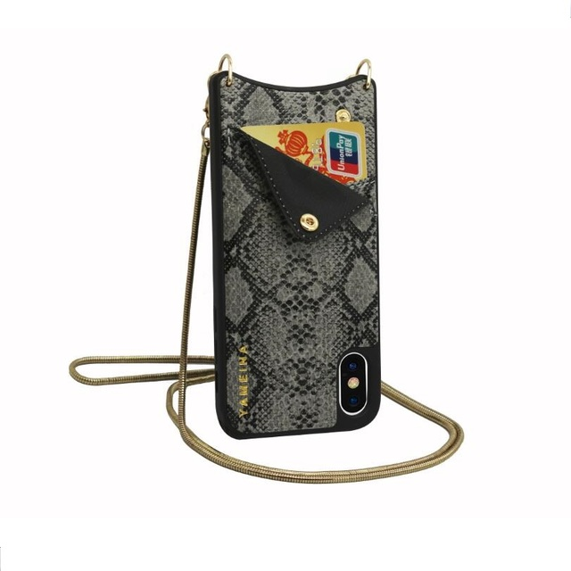 low cost f5501 c2110 US $10.73 28% OFF|Fashion Crossbody Cell phone Wallet bag for Credit Cards  Case Cover with long chain for Iphone XS MAX XR X 6S 6 8 7 plus case-in ...