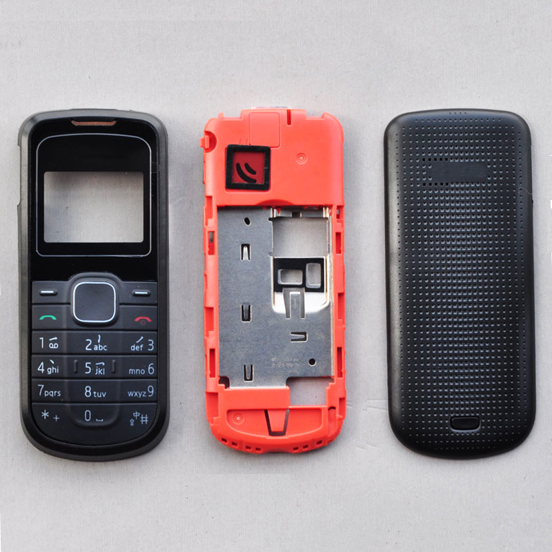 ZUGZUC New Full Complete Housing Cover For Nokia 1202 Of Mobile Phone + Keyboard