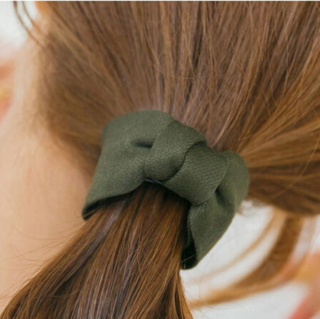1pc New Cute Fashion Design Adult Hair Accessories For Women Girls Hairpin Side Banana Clip Twist Bow Gripper Tie Ponytail Clip Apparel Accessories