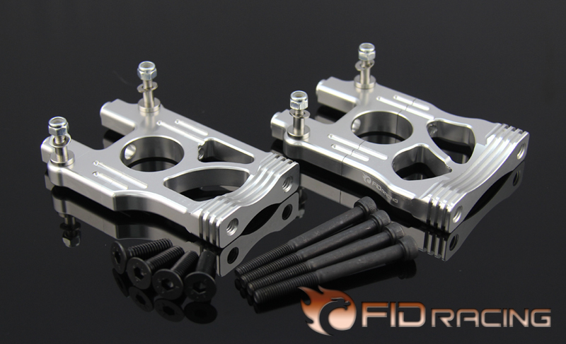 FID Split type Central differential fixed seat FOR LOSI 5IVE-T Free Shipping billet rear hub carriers for losi 5ive t