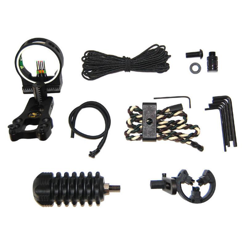 Bow Sight Archery-Accessory Arrow Stabilizer Shock-Absorber Hunting-Set Compound-Bow