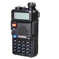 מכשיר הקשר 2pcs Baofeng UV-5R Interphone מכשיר הקשר שני הדרך רדיו FM משדר Dual-band DTMF VOX מעורר LED פנס מפתח נעילה (4)
