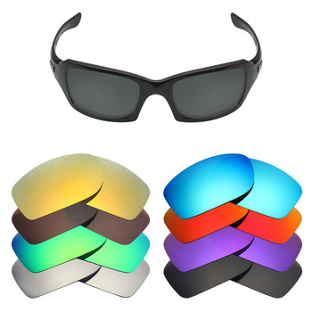 Mryok Polarized Replacement Lenses for Oakley Fives Squared Sunglasses Lenses(Lens Only) – Multiple Choices