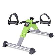 Домашний мини фитнес-велосипед с ЖК-дисплеем для внутреннего велоспорта, Шаговая физиотерапия, восстановление конечностей, тренажер для тренажерного зала HW083